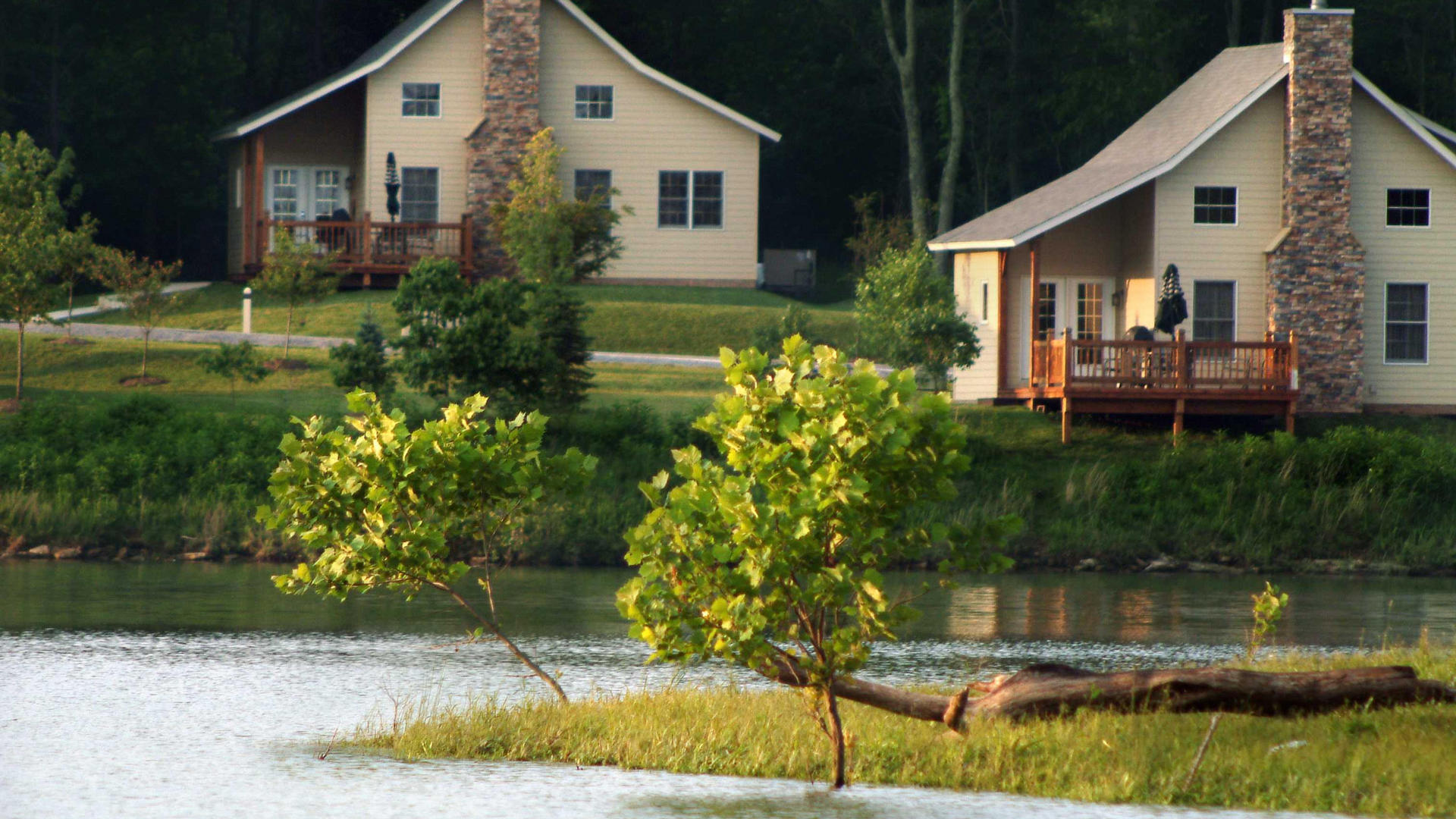 Cottage vacations at Stonewall Resort